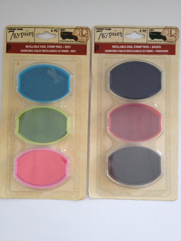 7Gypsies-Stamp-Pad-Refills-for-Oval-Stamper-2-package-Reef-Basic